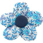 Small flower hair slide azure mini flower - PPMC