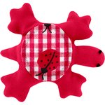 Small turtle hair slide ladybird gingham - PPMC