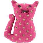 Pasador pequeño gato etoile or fuchsia - PPMC