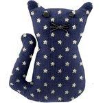 Petite barrette chat etoile marine or - PPMC