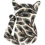 Petite barrette chat feuillage - PPMC