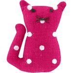 Small cat hair slide fuschia spots - PPMC