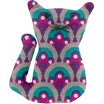 Small cat hair slide purple provence - PPMC