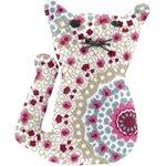 Pasador pequeño gato rosetón - PPMC