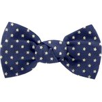 Small bow hair slide etoile marine or - PPMC