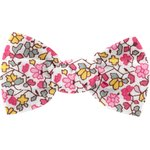Small bow hair slide pink jasmine - PPMC