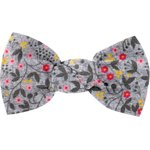 Small bow hair slide flowery liana - PPMC