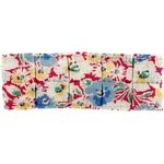 Small pleated hair slide carnations jeans - PPMC