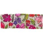 Small pleated hair slide purple meadow - PPMC