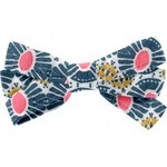 Ribbon bow hair slide ethnic sun - PPMC