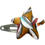 Star hair-clips cocoa pods - PPMC
