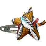 barrette clic-clac étoile cabosses - PPMC