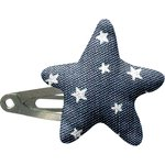 Star hair-clips etoile argent jean - PPMC
