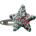 Star hair-clips flower mentholated - PPMC