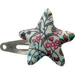 Pasador de pelo estrella flor mentolada - PPMC