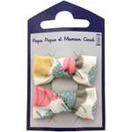 Small bows hair clips summer sweetness - PPMC