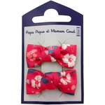 Small bows hair clips hanami - PPMC