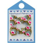 Small bows hair clips palmette - PPMC