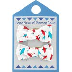 Small bows hair clips swimswim - PPMC