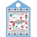 Small ribbons hair clips swimswim - PPMC