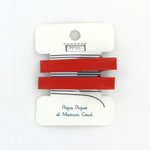 Medium-sized alligator hair clip: cr041 - PPMC