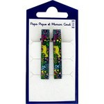 Medium-sized alligator hair clip: crm122 - PPMC