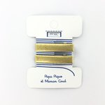 Petite barrette croco doré cr047 - PPMC