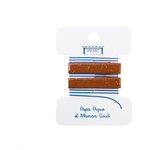 Petite barrette croco terracotta pailleté cr048 - PPMC