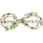 Arabesque bow hair slide menthol berry - PPMC