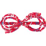 Barrette noeud arabesque bleuets cherry - PPMC