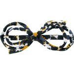Arabesque bow hair slide  melting plum' - PPMC