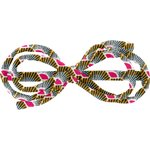 Arabesque bow hair slide palmette - PPMC