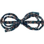 Arabesque bow hair slide paquerette marine - PPMC