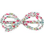Barrette noeud arabesque  roseraie - PPMC
