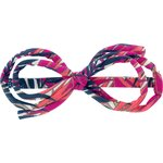 Barrette noeud arabesque tropical fire - PPMC