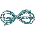 Arabesque bow hair slide celadon violette - PPMC
