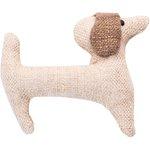 Basset hound hair clip  glitter linen - PPMC