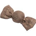 Petite barrette mini bonbon lin or - PPMC