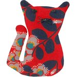 Small cat hair slide vermilion foliage - PPMC