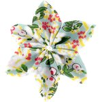 Star flower 4 hairslide menthol berry - PPMC