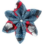 Star flower 4 hairslide flowered night - PPMC