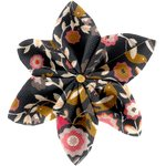 Star flower 4 hairslide ochre bird - PPMC
