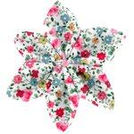 Star flower 4 hairslide rosary - PPMC