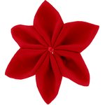 Star flower 4 hairslide   - PPMC