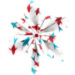 Star flower 4 hairslide swimswim - PPMC