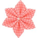 Star flower 4 hairslide vichy peps - PPMC