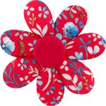 Fabrics flower hair clip cherry cornflower - PPMC
