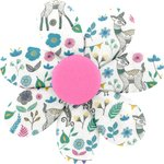 Fabrics flower hair clip tales and legends - PPMC
