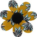 Fabrics flower hair clip aniseed star - PPMC