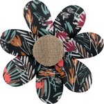 Fabrics flower hair clip grasses - PPMC